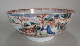 Chinese Export Porcelain Bowl 18thc