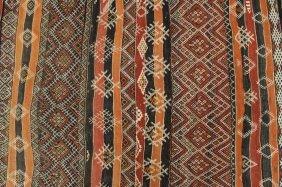 Woven Hall Rug, With Diamonds