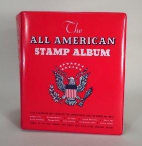Partial Us Stamp Album