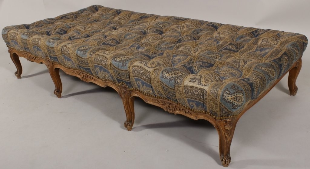 Louis XVI Style Paisley Daybed