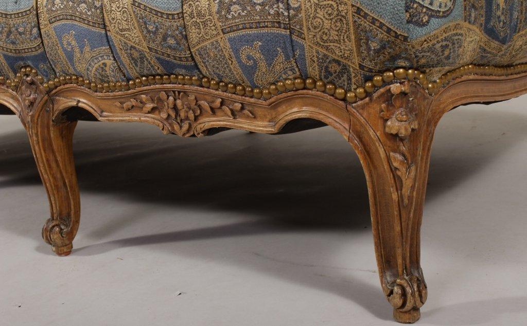 Louis XVI Style Paisley Daybed - 4
