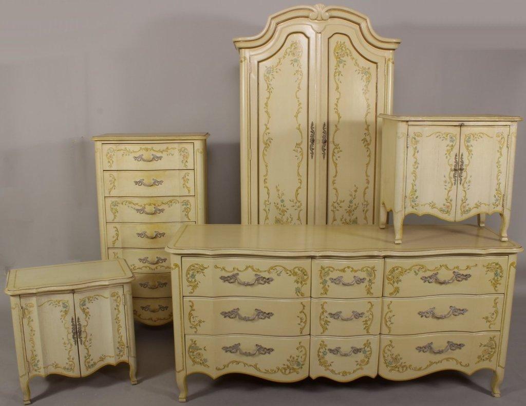 """Drexel """"Venetian Heritage"""" Bedroom Suite"""