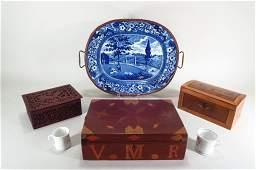 6 Victorian items EnglishAmerican