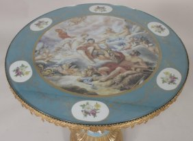 Sevres Style Table, French, 20th C.