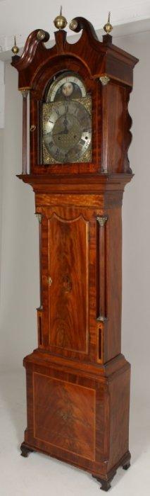 George Iii Clock William Lawson 18th C.