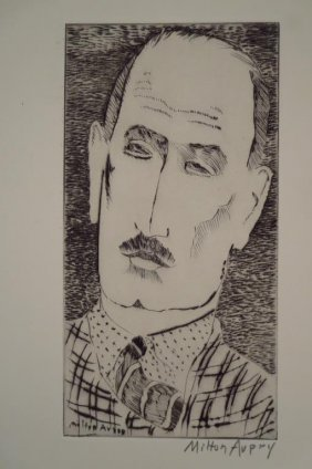 Milton Avery, Am., 2 Etchings Published By Laurels