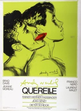 """Two Andy Warhol Posters, """"querelle"""", German, 1982"""