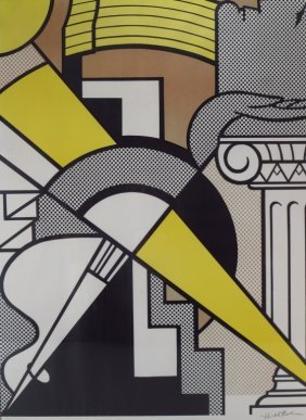 Roy Lichtenstein, Am., 1923-1997, Poster