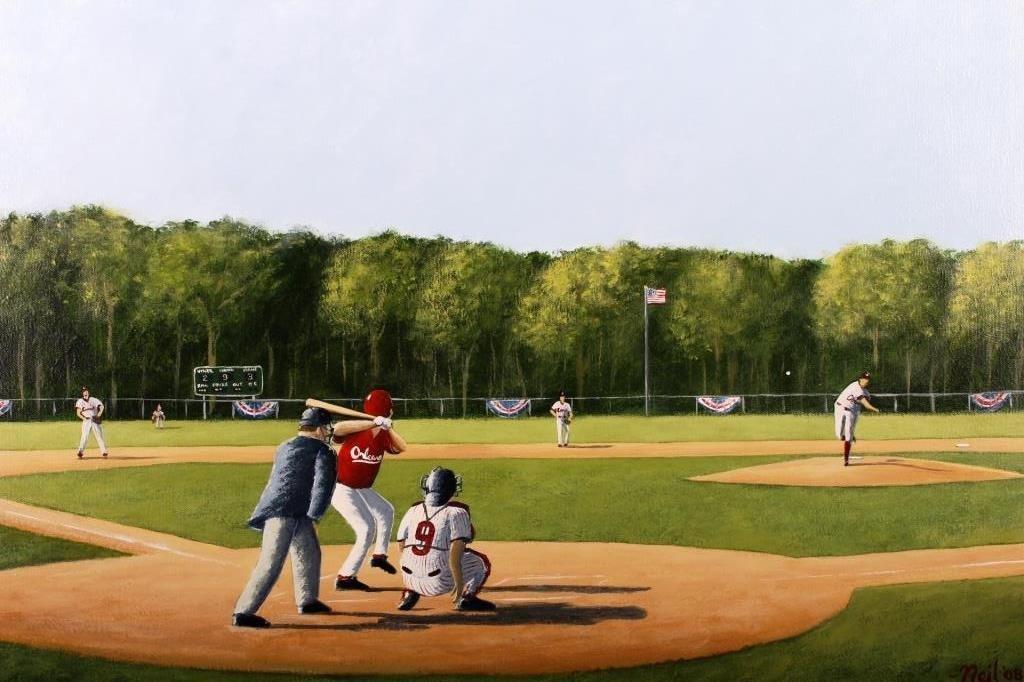 Neil Collins, Contemp. Am., Baseball Pitcher, O/C