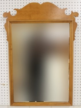Chippendale Style Wood Mirror