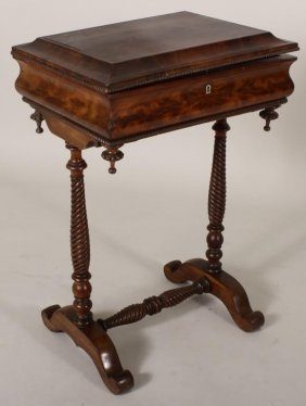 Victorian Sewing Table 19th-20th C