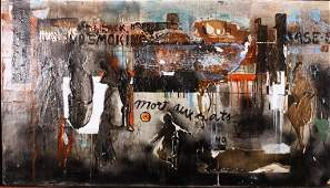 L.F.Berger, Am., mid 20th C., Abstract
