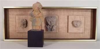 Pre-Col. Jama Coaque Female Figure, 3-500 AD