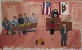 Folk Art, Am., O.J. Simpson Defense Team
