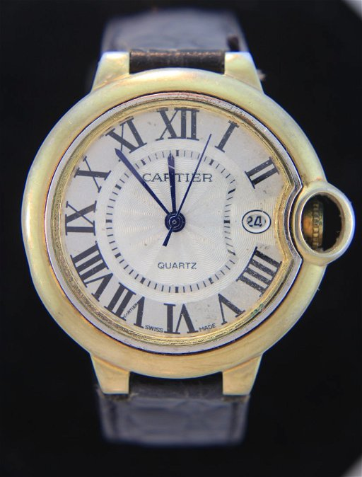 9b71b19bb9386 Vintage Cartier Ballon Bleu Watch - Apr 21, 2016   Litchfield ...
