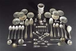 Sterling Silver Flatware, Hollowware, Etc.