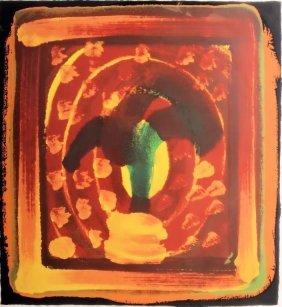Howard Hodgkin, B. 1932, Still Life, Screenprint