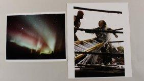 "Dan Asher, Am., 1947-2010, ""birds Of Prey"" 2 Fotos"