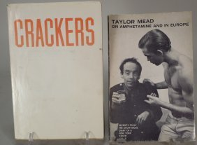 """Signed Books, """"crackers"""" By Ed Ruscha & A Taylor Mead"""
