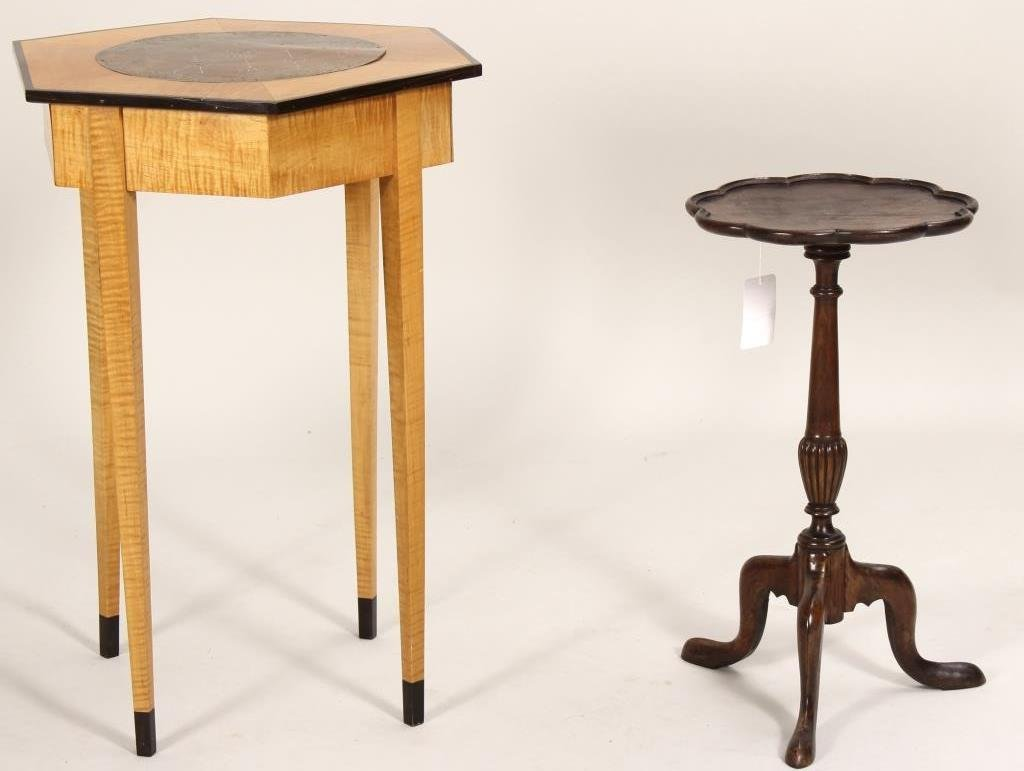 Nepalese Game Table and Occasional Table