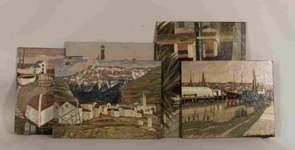 Attrib., Jac Martin-Ferrieres, Oil/Canvas/Panel
