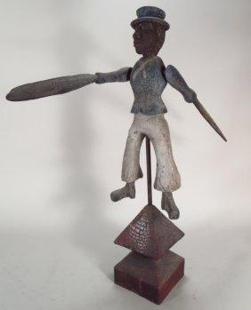 African American Folk Art Whirligig