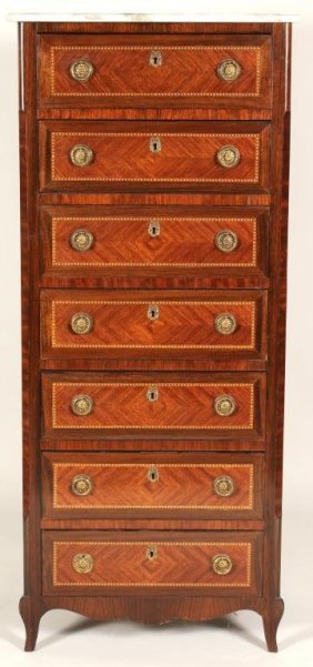 French Style Semainier Lingerie Chest