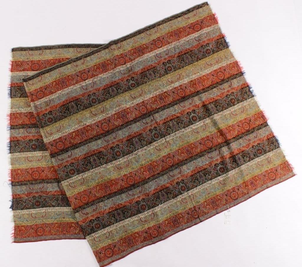 Kashmiri Striped Shawl, North India, c. 1900