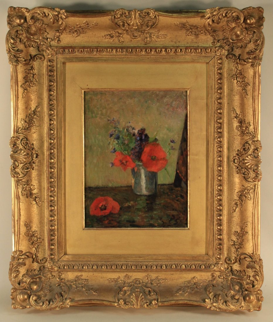 """Paul Gauguin, Fr., """"FLEURS D'ETE DANS....O/C,"""
