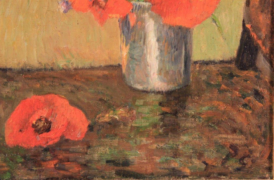 """Paul Gauguin, Fr., """"FLEURS D'ETE DANS....O/C, - 4"""