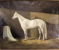 Mitchell Eng 19th Equine Portrait 1876 OC