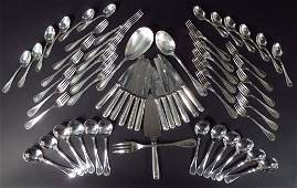 Christofle Silverplate Flatware Service for 12