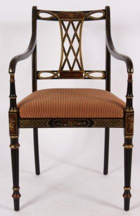 After the Original, Georgian-Style Open Armchair