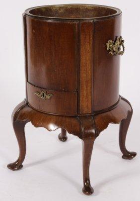 George II-III Mahogany Wine Cooler, c. 1750
