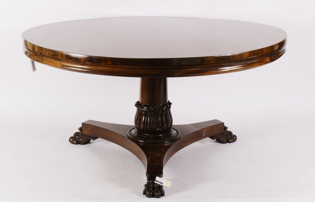 Regency Rosewood Breakfront Table