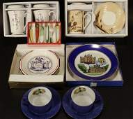 Group of Boxed Sets of Cups and Plates et al