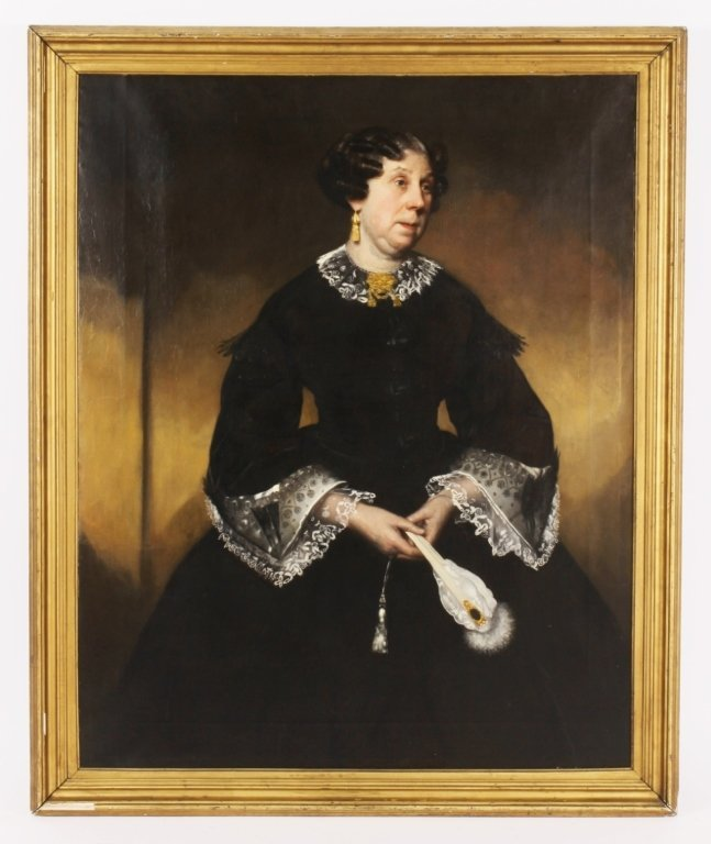 Attr. Hugh Collins, Scots,Portrait of Dowager, O/C