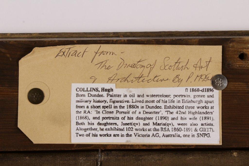 Attr. Hugh Collins, Scots,Portrait of Dowager, O/C - 7