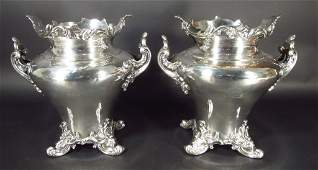 Sheffield S/P Wine Coolers by Roberts, Smith & Co.