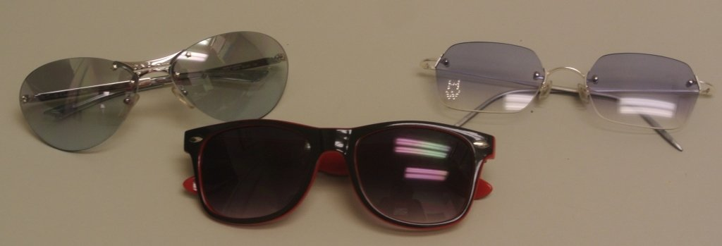 Dior Sunglasses & Two Others