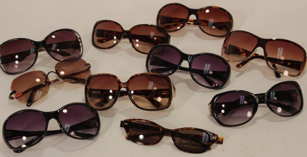 Brown & Black Frame Joan Rivers Sunglasses