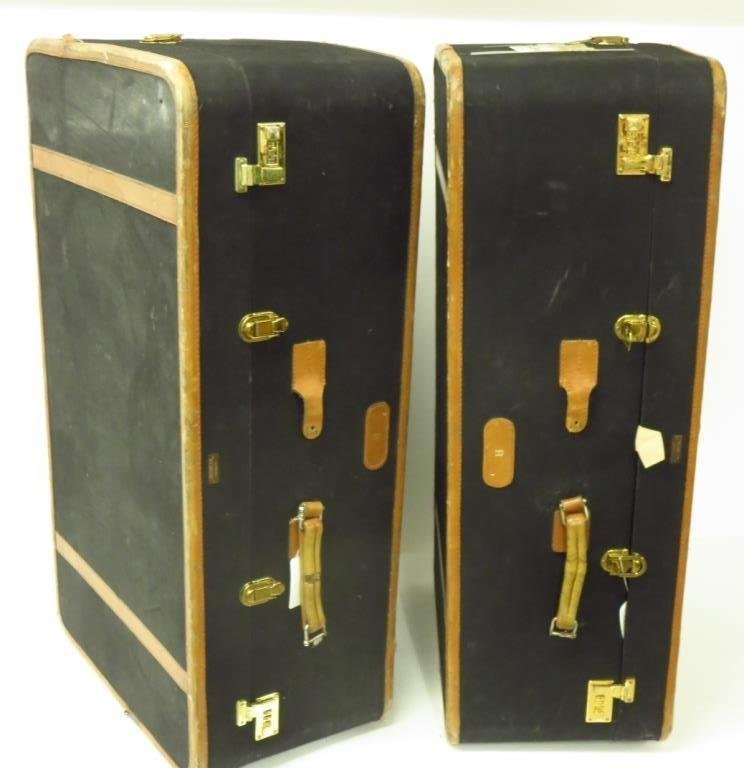 Two Vintage T. Anthony Ltd Suitcases