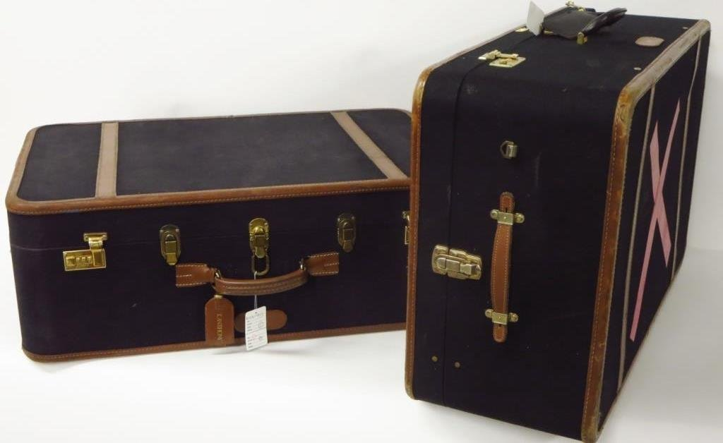 Two Combination Lock T. Anthony Suitcases