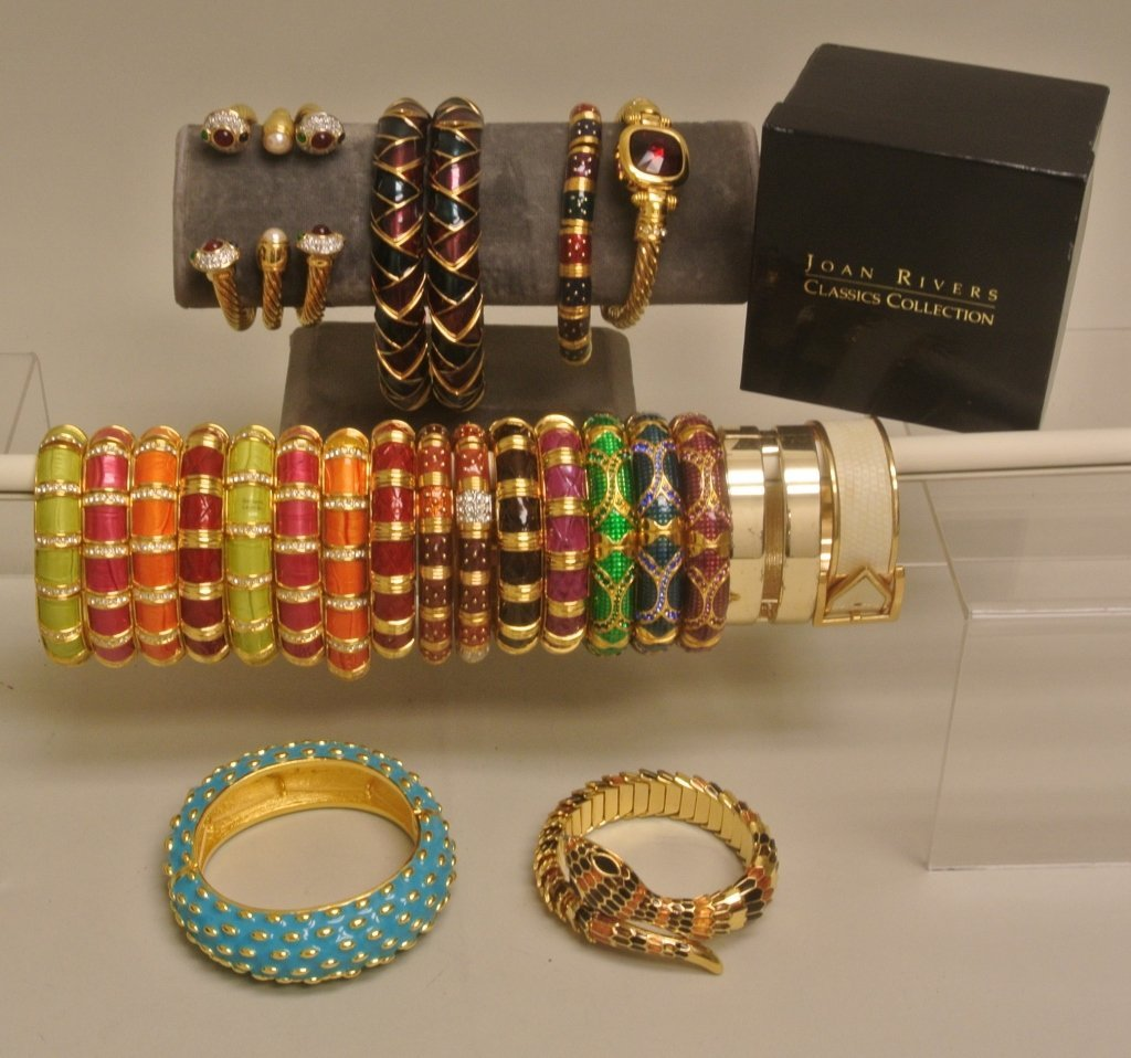Snake Enamel Bracelets and Others