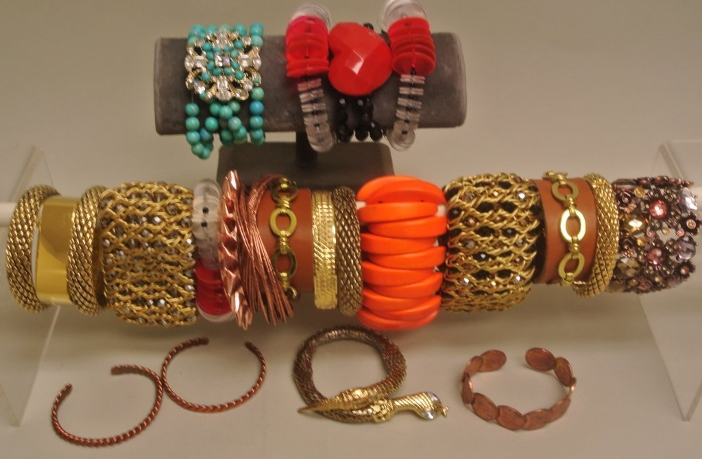Leather Cuff Bracelets and Others