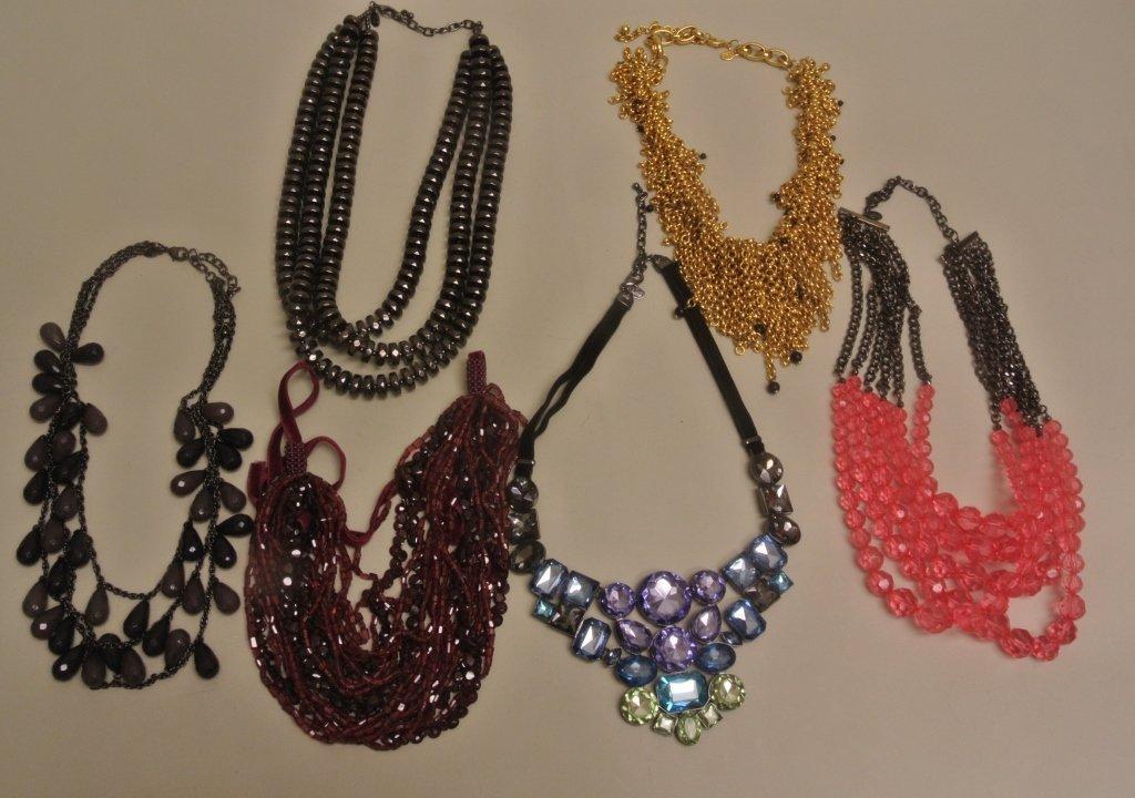 Six Multi Strand JR Necklaces
