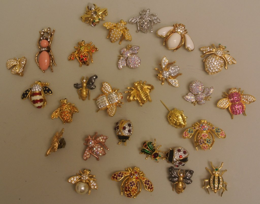 Bees and Bug Pins by Joan Rivers