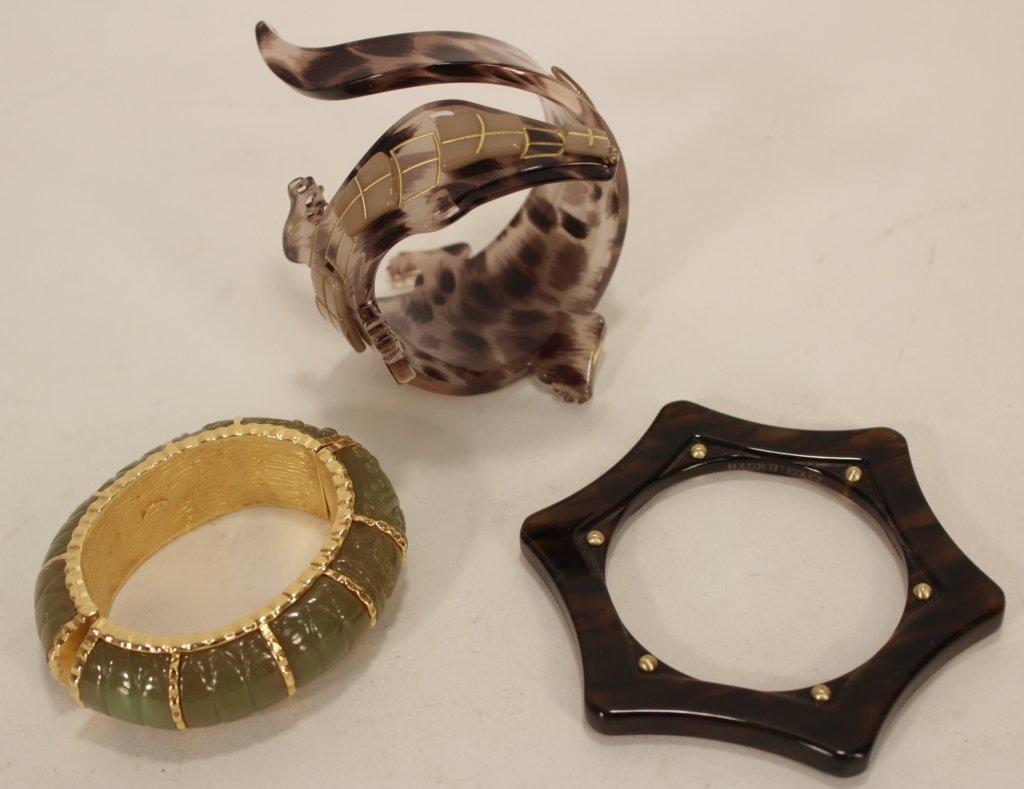 Designer Bracelets by Lanvin and Others