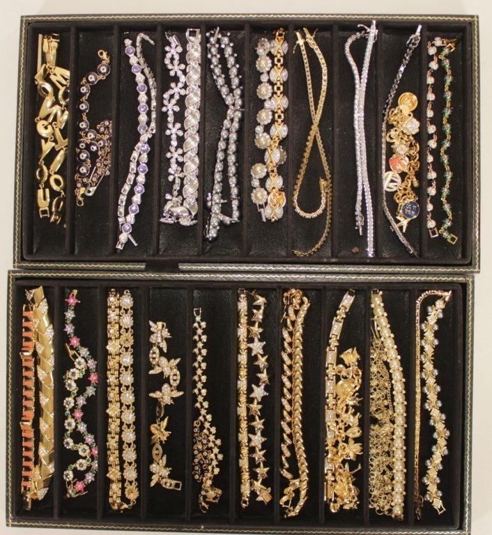 Forty Miscellaneous Joan Rivers Bracelets