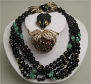Three Pieces of Ciner Jewelry